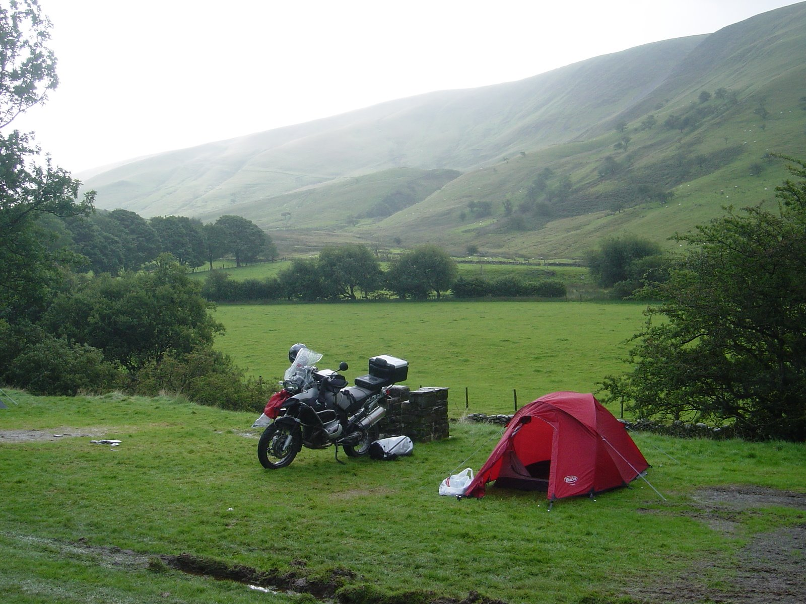 ... chatted to the locals whilst enjoying a brew and before we got carried away we set off on the last five miles back to the c&site u2013 in the rain again. & GS1200 | Adventourers - off-road adventure tours for BMW GS and KTM ...
